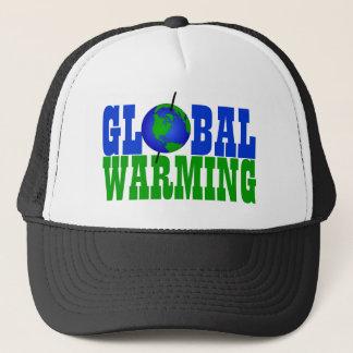 地球温暖化の帽子 キャップ