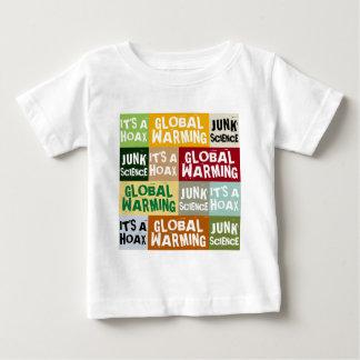 地球温暖化の悪ふざけ ベビーTシャツ