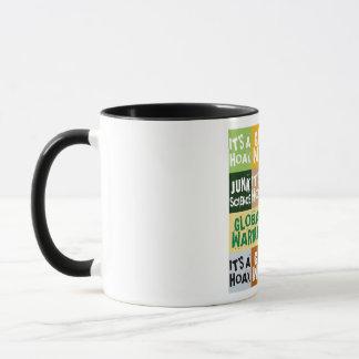 地球温暖化の悪ふざけ マグカップ