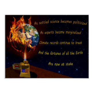 地球温暖化の脅威 ポスター