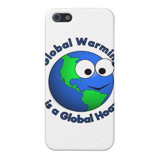 地球温暖化は全体的な悪ふざけです iPhone 5 CASE