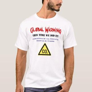 地球温暖化 Tシャツ