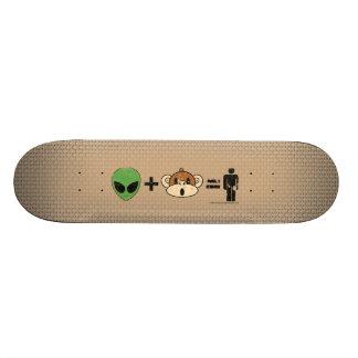地球自由意志のプロジェクト 21.6CM スケートボードデッキ