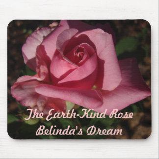 地球親切なばら色のベリンダの夢のマウスパッド マウスパッド