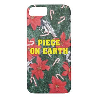 地球銃のクリスマスの部分 iPhone 8/7ケース