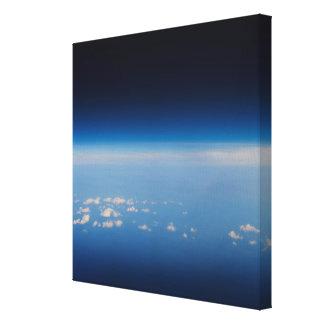 地球2の高度の写真 キャンバスプリント