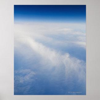 地球2の高度の写真 ポスター
