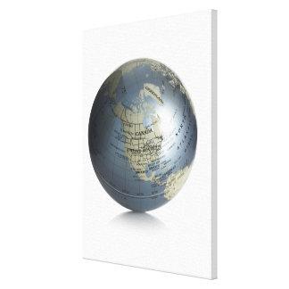 地球2 キャンバスプリント