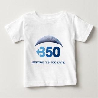 地球350 ベビーTシャツ