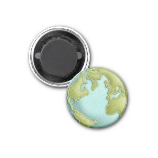 地球3Dによってステッチされるパターン磁石 マグネット