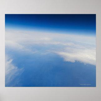 地球5の高度の写真 ポスター