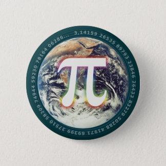 地球|の数学のPi数 缶バッジ