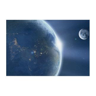 地球 アクリルウォールアート