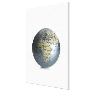 地球 キャンバスプリント
