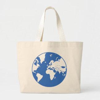 地球/ジャンボトート ラージトートバッグ