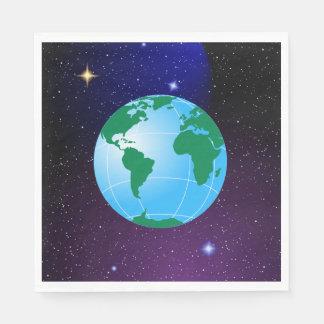 地球 スタンダードランチョンナプキン