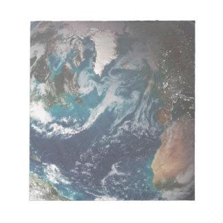 地球 ノートパッド