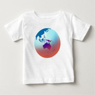 地球 ベビーTシャツ