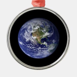 地球 メタルオーナメント