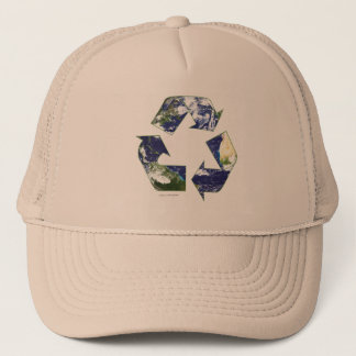 地球-リサイクルします キャップ