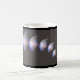 地球。 (地球; close-up_Space場面 コーヒーマグカップ