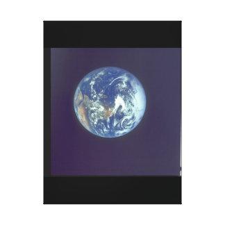 地球。 (地球; planet_Space キャンバスプリント