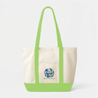 地球、家、菓子、家! トートバッグ