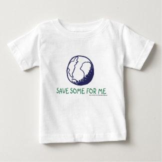 地球: 私のためのいくつかを救って下さい ベビーTシャツ