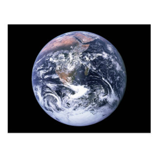 地球 葉書き