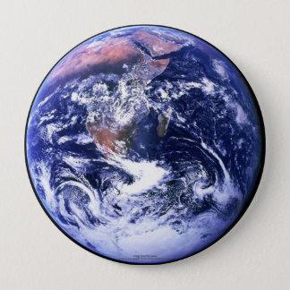 地球 10.2CM 丸型バッジ