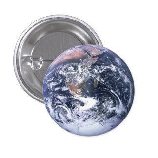 地球 3.2CM 丸型バッジ