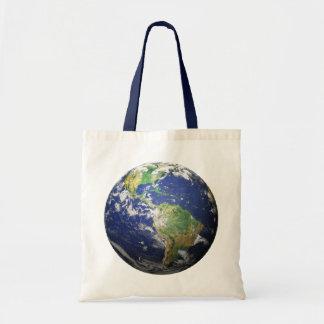 地球- 3D効果 トートバッグ