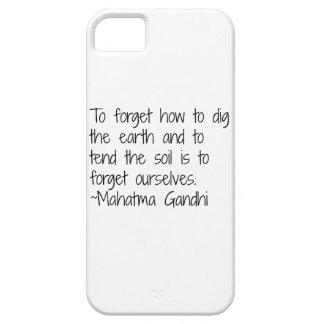地球- Gandhi iPhone SE/5/5s ケース