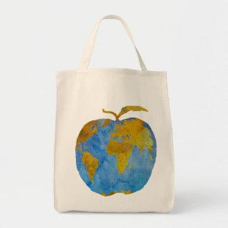 地球Apple トートバッグ