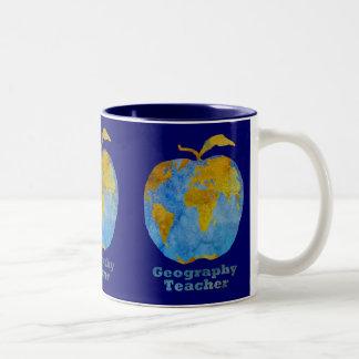 地理学の先生のApple ツートーンマグカップ