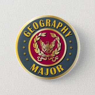地理学の専攻学生 5.7CM 丸型バッジ