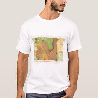 地質ロッキー山脈 Tシャツ