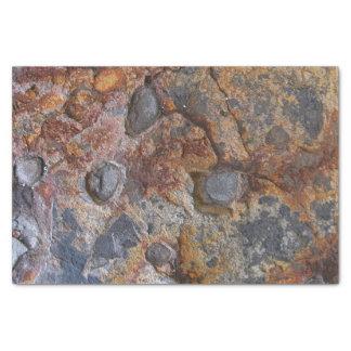 地質学の汚い石の構造 薄葉紙