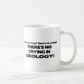 地質学の泣き叫び無し コーヒーマグカップ