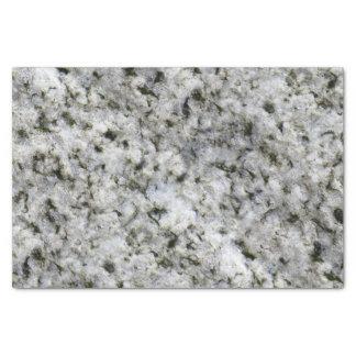 地質学の白い花こう岩の石の質 薄葉紙