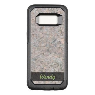 地質学の石の質の写真 オッターボックスコミューターSamsung GALAXY S8 ケース