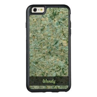 地質学の緑の石の質の写真 オッターボックスiPhone 6/6S PLUSケース