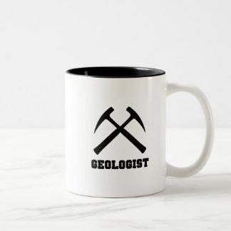 地質学者のマグ ツートーンマグカップ