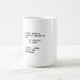 地質学者の冗談のマグ コーヒーマグカップ