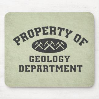 地質学部の特性 マウスパッド