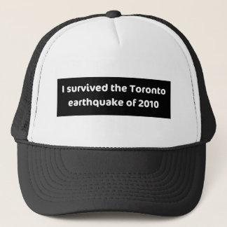 地震トロント キャップ