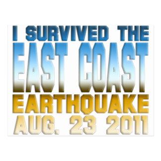 地震2011年 ポストカード