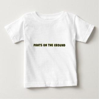 地面のズボン ベビーTシャツ