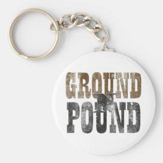 地面「nのポンド キーホルダー