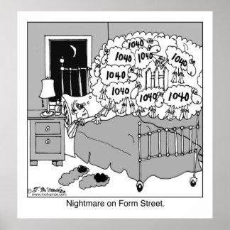 型枠の通りの悪夢 ポスター
